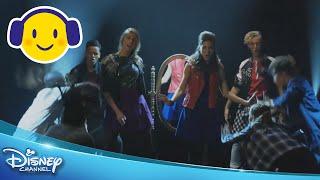 getlinkyoutube.com-Descendants | Rotten To The Core (lyrics) | Disney Channel NL