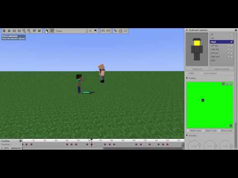 Notch vs Herobrine (Mine-Imator)