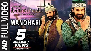 getlinkyoutube.com-Baahubali Songs | Manohari Video Song | Prabhas, Anushka Shetty,Rana,Tamannaah | M M Keeravani