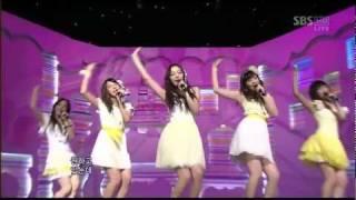 getlinkyoutube.com-[Live] KARA - Honey (Inkigayo 15.02.2009) HD