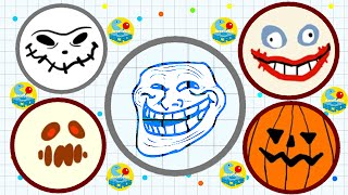 getlinkyoutube.com-Agario Invisble Skin Trolling Part 2 Agar.io Mobile Funny Moments Compilation