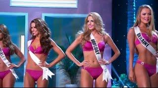 getlinkyoutube.com-Miss Universo 2015 Traje De Baño Competencia Preliminar