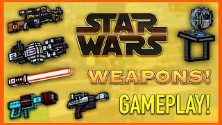 getlinkyoutube.com-Pixel Gun 3D - Star Wars Weapon Gameplay!