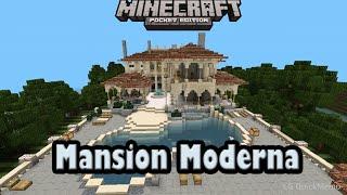 getlinkyoutube.com-Descarga mansion moderna para minecraft pe 0.13.0 alpha