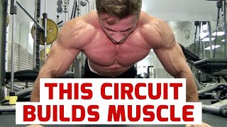getlinkyoutube.com-GIANT SETS, BUILDING MASS, WITH AWESOME YOUNG BODYBUILDER MICHAL