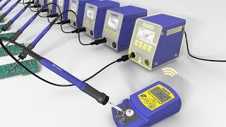HAKKO FN-1010; Pioneer the future of soldering with advanced IoT technology (in Chinese )