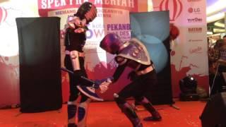 getlinkyoutube.com-Kamen rider ouja vs tiger (Seikatsu Cosplay) Pekanbaru By:F3q_ZoNe