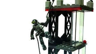 getlinkyoutube.com-Mega Bloks Call Of Duty - Rappel Fighter