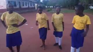 Particular dance by students