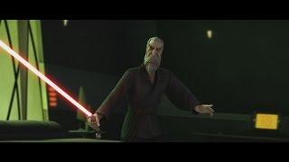 getlinkyoutube.com-Star Wars: The Clone Wars - Nightsisters vs Count Dooku [1080p]