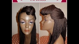 Fully Braided Lace Front Wigs - Senegalese Twist, Box Braids | House of Hairs