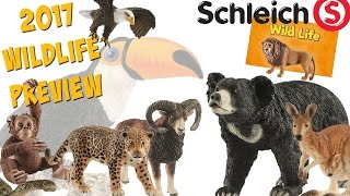 getlinkyoutube.com-Schleich 2017 Wild Life Preview