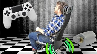 getlinkyoutube.com-Gaming Chair - Shock Feedback • Do it Yourself !!!
