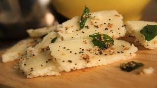 getlinkyoutube.com-Home-Made Dhokla (Steamed Semolina Snack) By Arina