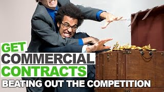 Get Commercial Cleaning Contracts Without Begging and Competing on Price
