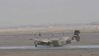 getlinkyoutube.com-طيار مصرى يذهل العالم بعد هبوطه بالعجلة الأمامية فقط لطائرة حربية