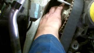 getlinkyoutube.com-RENAULT 15 DCI TIMING BELT WATER PUMP REMOVAL