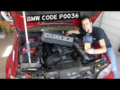 CODE P0036 HO2S HEATER CONTROL CIRCUIT BANK 1 SENSOR 2 BMW E46 E39 ... E53 X3 X5 Z3 Z4