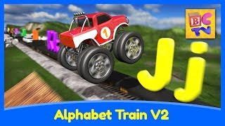Alphabet Train v2 - Learn ABCs, Animals and Vehicles for Kids by Brain Candy TV (Updated)