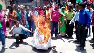 Joshimath:  43 दिनों से धरना दे रहे ग्रामीणों ने दी उग्र आन्दोलन की चेतावनी
