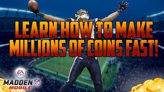 getlinkyoutube.com-MADDEN MOBILE 17 COIN MAKING METHOD!! LEARN HOW TO MAKE MILLIONS EASILY! 500 Subscriber Special!
