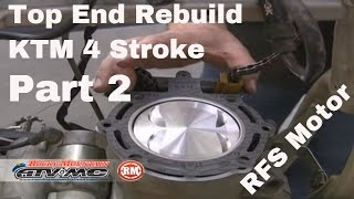 getlinkyoutube.com-Motorcycle Top End Rebuild for Four-Stroke (Part 2 of 2)