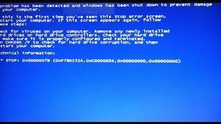 getlinkyoutube.com-[Solved] How to fix stop 0x0000007b Blue Screen error when installation window