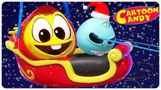 WonderBalls Playground | Christmas Cartoon For Kids | Cartoon Candy