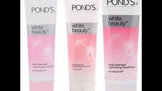 Ponds White Beauty With Cream Facial FaceWash Reveiw Hindi