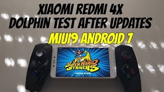 Xiaomi Redmi 4X Dolphin test after Updates MIUI9/Android 7 Snapdragon 435/Adreno 505
