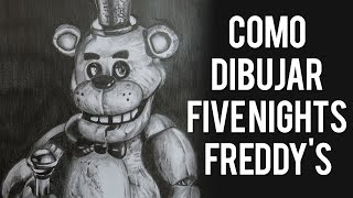 getlinkyoutube.com-Como Dibujar Five Nights at Freddy's con Lapiz