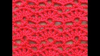 getlinkyoutube.com-Crochet : Punto Abanico # 6