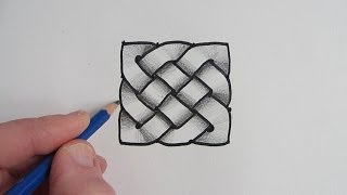 getlinkyoutube.com-How to Draw a Celtic Knot: Step by Step