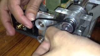 getlinkyoutube.com-Mini Torno / Mini Lathe Home made