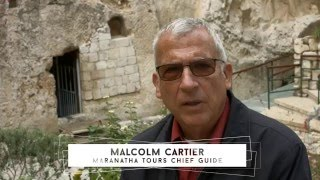 Join Malcolm in The Holy Land with Maranatha Tours