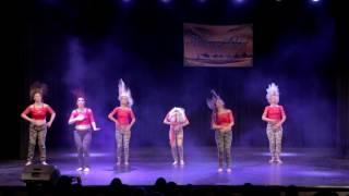 getlinkyoutube.com-Waves of Orient 2016-  Gala Show, Zeina Salome team- Street shaabi