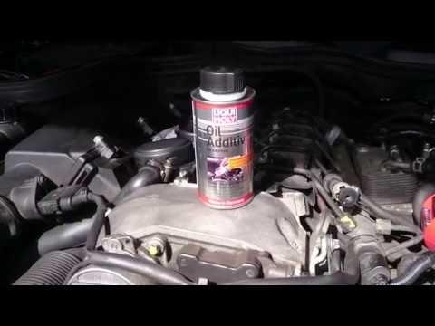 Замена масла в двигателе мерседес С класса W203