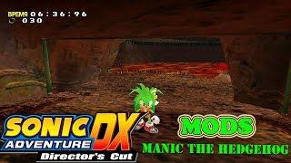 getlinkyoutube.com-Sonic Adventure DX Mods: Manic the Hedgehog