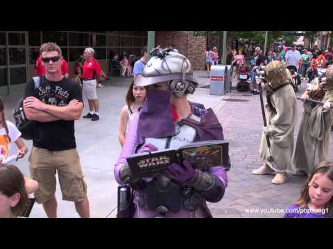 2013 Star Wars Weekends Opening Day Disney's Hollywood Studios Walt Disney World HD 1080p