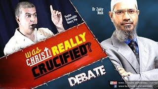 DEBATE: Was Christ (pbuh) Really Crucified? - Part-1/2 - Dr Zakir Naik vs Pastor Ruknuddin Pio
