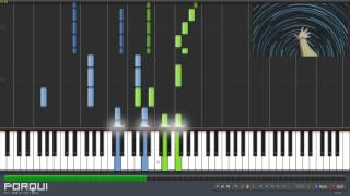 getlinkyoutube.com-Sword Art Online Opening 1 - Crossing Field (Synthesia)