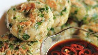 getlinkyoutube.com-ขนมกุยช่ายผักกาด : Garlic Chives & Turnip Cake