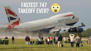 getlinkyoutube.com-FAST TAKEOFF BY BRITISH AIRWAYS 747