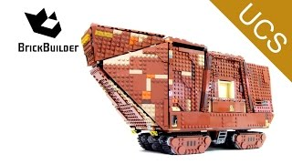 getlinkyoutube.com-Lego Ultimate Collector Series 75059 Sandcrawler - Lego Speed Build