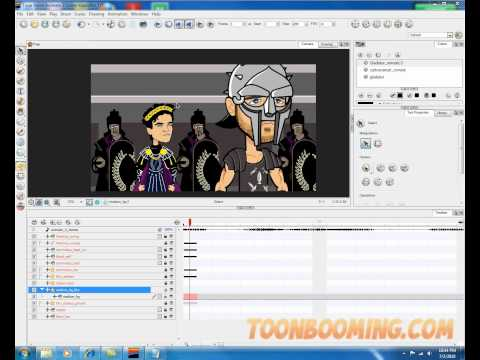ToonBoom Animate Quick tip #3 -- Adding Effects