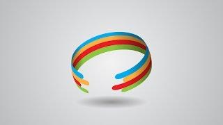 getlinkyoutube.com-Professional Logo Color Ring Design   Adobe Illustrator Tutorial