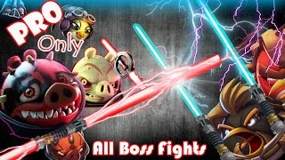 getlinkyoutube.com-Angry Birds Star Wars 2: Part-1 All Boss Fights [Naboo Invasion-Escape to Tatooine-Battle of Naboo]