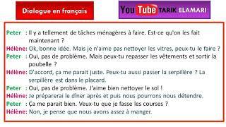 Dialogue en français Niveau A1 04