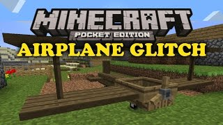 getlinkyoutube.com-✔ Airplane Minecart Glitch - Minecraft PE