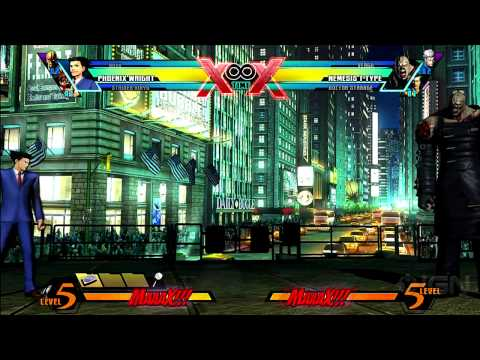 Ultimate Marvel vs. Capcom 3 - Phoenix Wright Commentary